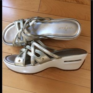 Cole Haan Nike Air Sandals.EUC, size 9B 💐💗